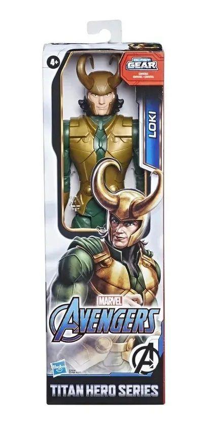 Boneco Loki Titan Hero Blast Gear  Hasbro