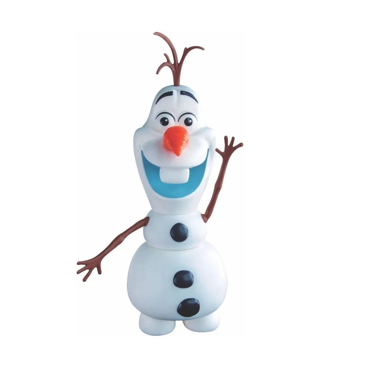 Boneco Olaf Vinil Frozen Articulado Original Disney 2598