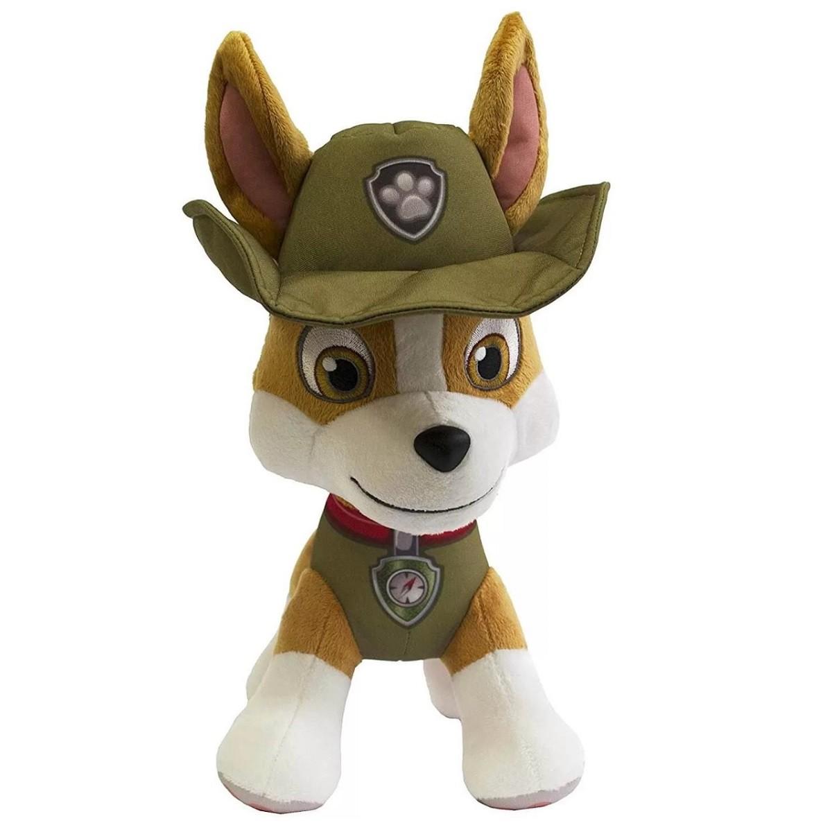 Boneco Pelúcia Patrulha Canina Tracker Sunny
