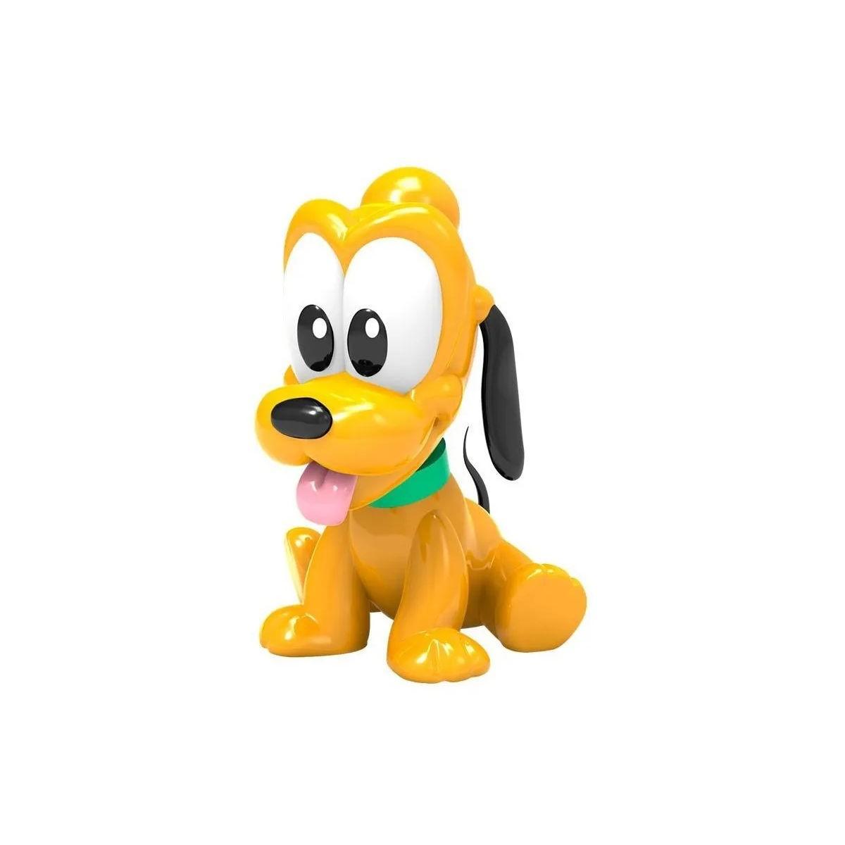 Boneco Vinil Pluto Baby Turma do Mickey Disney Líder 2893
