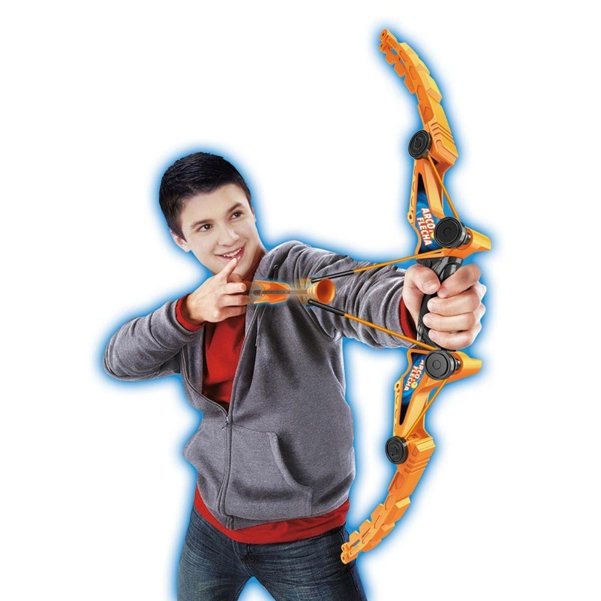 Brinquedo Arco e Flecha 3 dardos