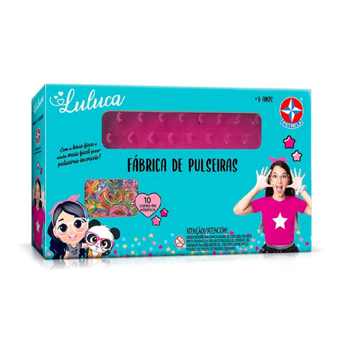 Brinquedo Fábrica De Pulseiras Da Luluca Pandinha - Estrela