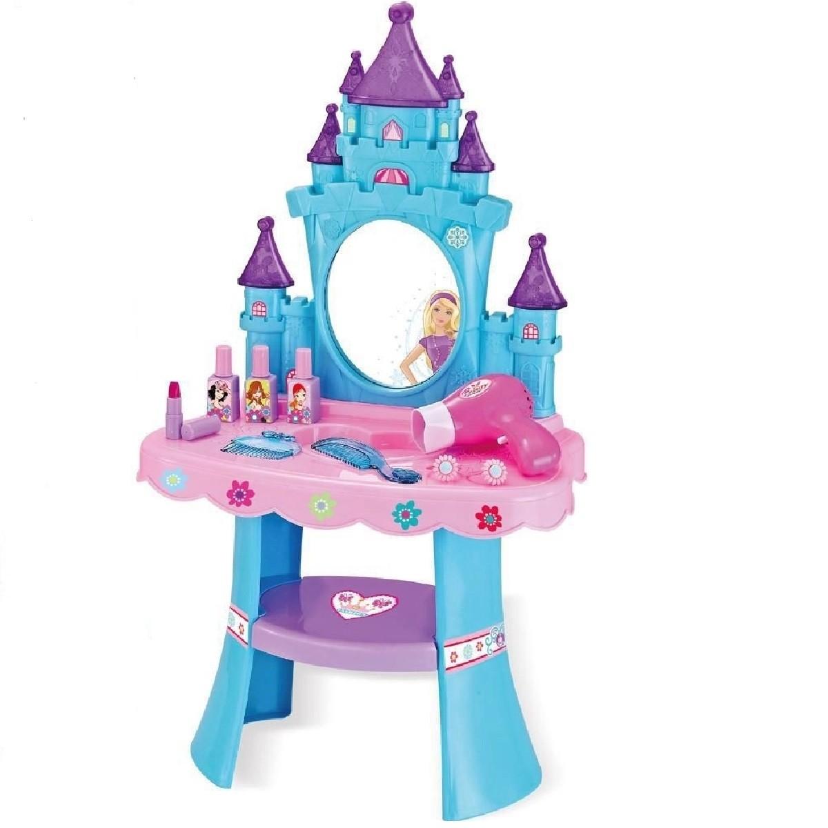 Brinquedo Infantil PENTEADEIRA ENCANTADA Com Acessórios