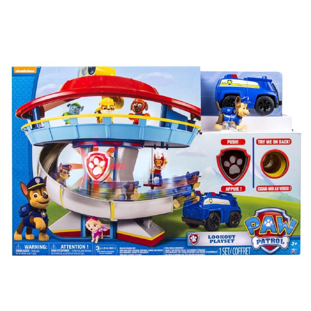 Brinquedo Playset Torre De Vigilância Patrulha Canina 1306