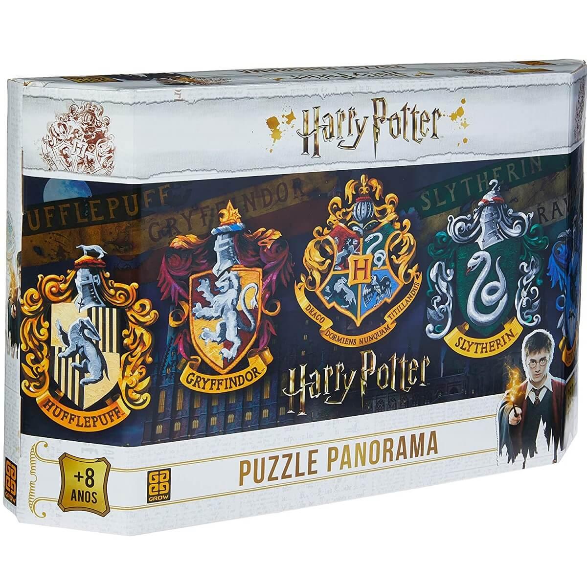 Brinquedo Quebra-Cabeça Puzzle Harry Potter 350 Peças