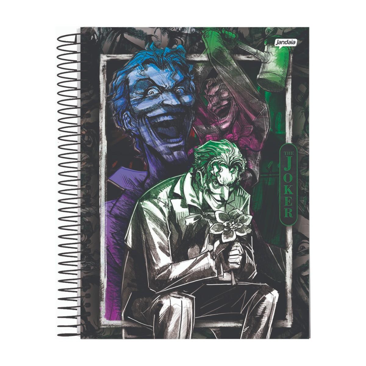 Caderno Escolar 10 Matérias Joker 160 Folhas Jandaia