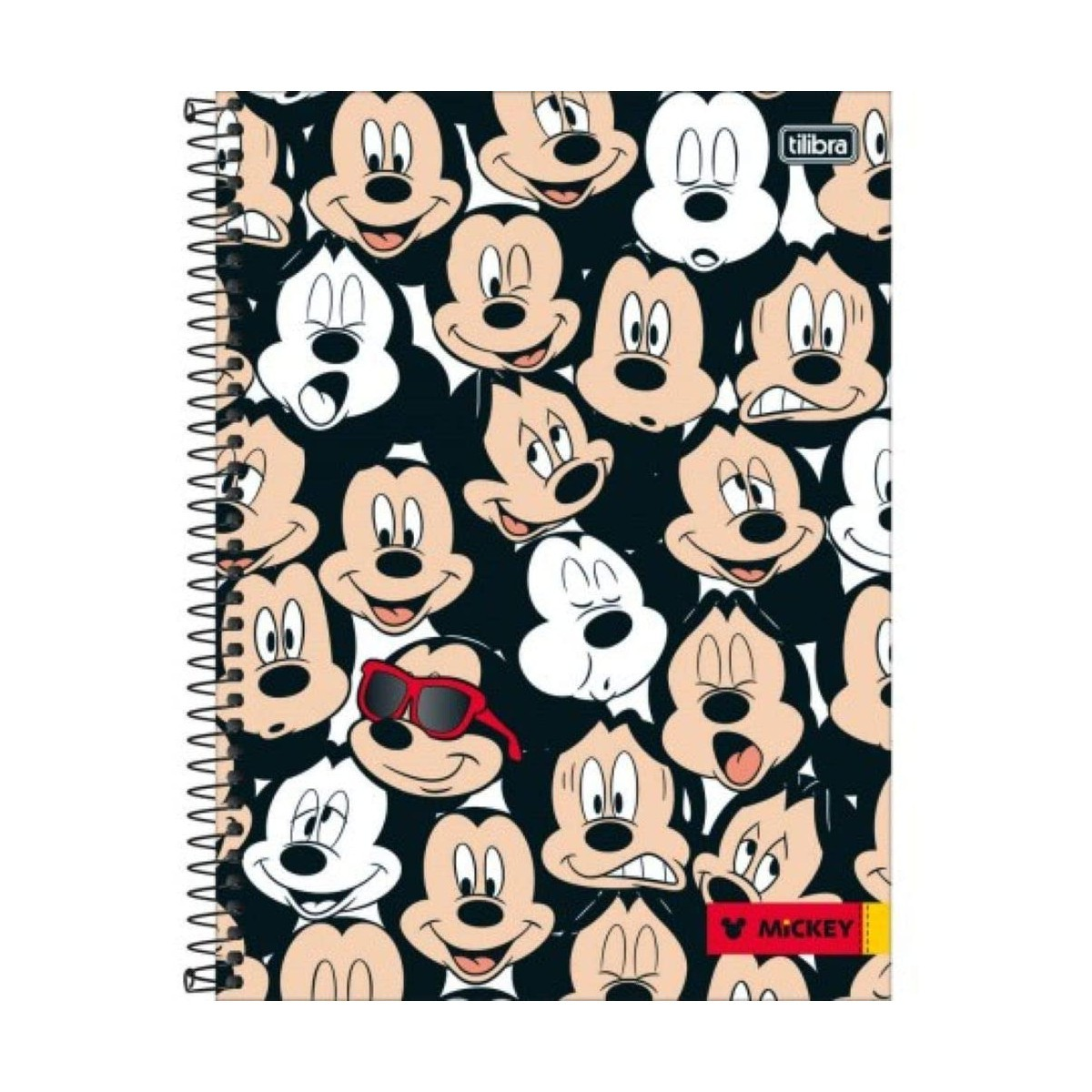 Caderno Escolar 10 Matérias Mickey 200 Folhas Tilibra