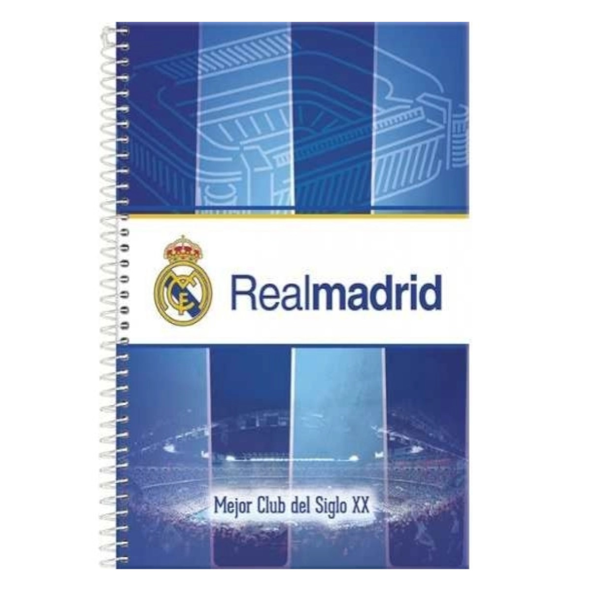 CADERNO REAL MADRID 10 MATÉRIAS 200 FOLHAS FORONI