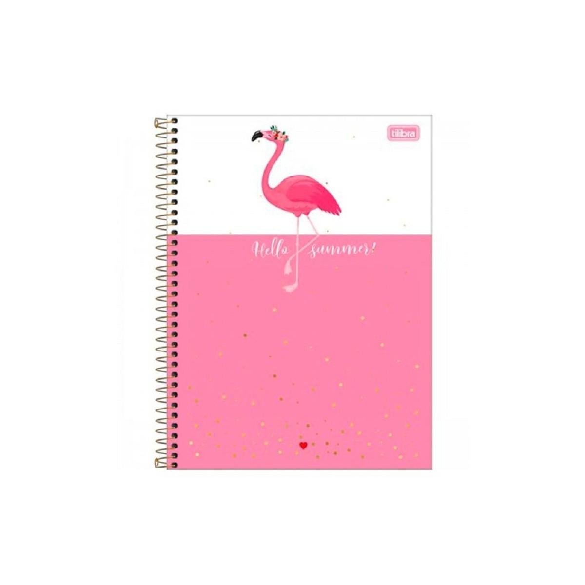 Caderno Universitário 10 Matérias 160 Folhas ALOHA TILIBRA