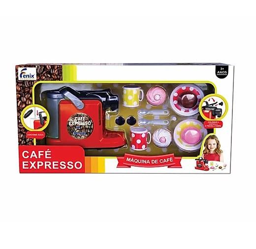 Cafeteira Infantil De Brinquedo Café Expresso Com Capsula