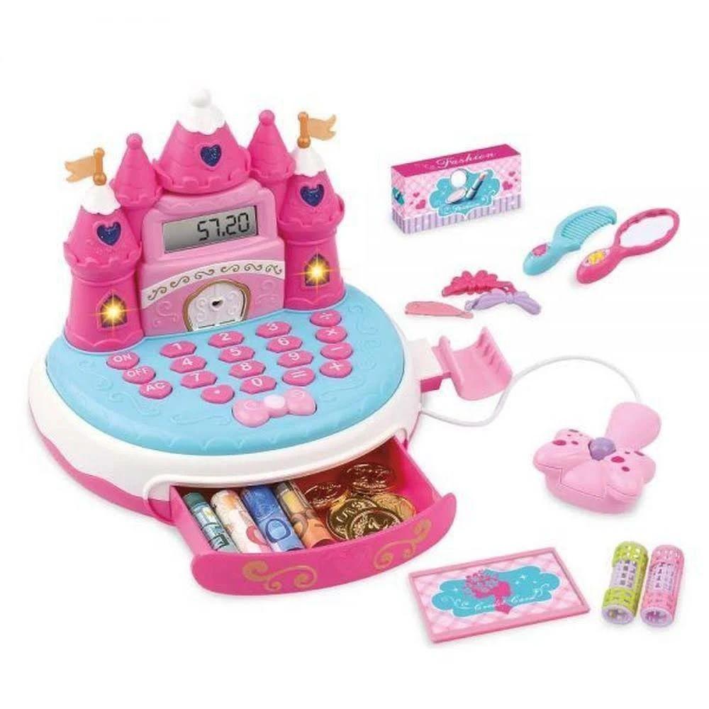 Caixa Registradora Sonho De Princesa Com Acessórios Dm Toys