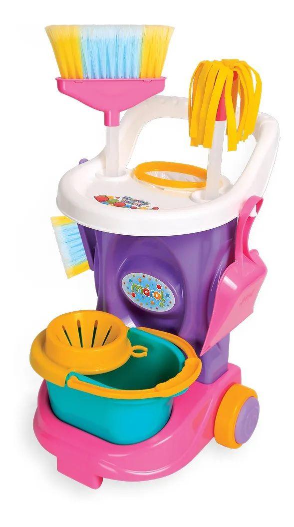 Carrinho De Limpeza Infantil Cleaning Trolley Maral