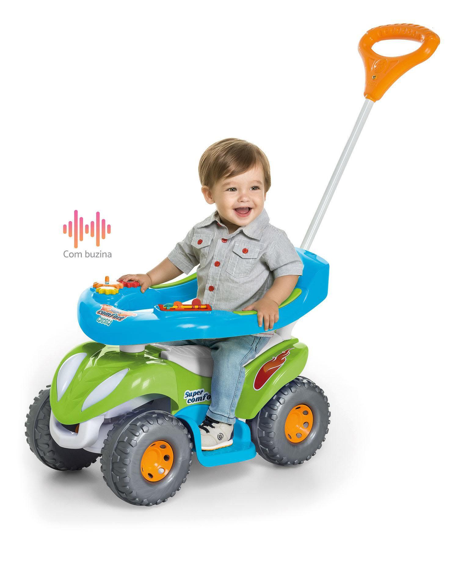 Carrinho De Passeio Comfort Quadriciclo Infantil Calesita