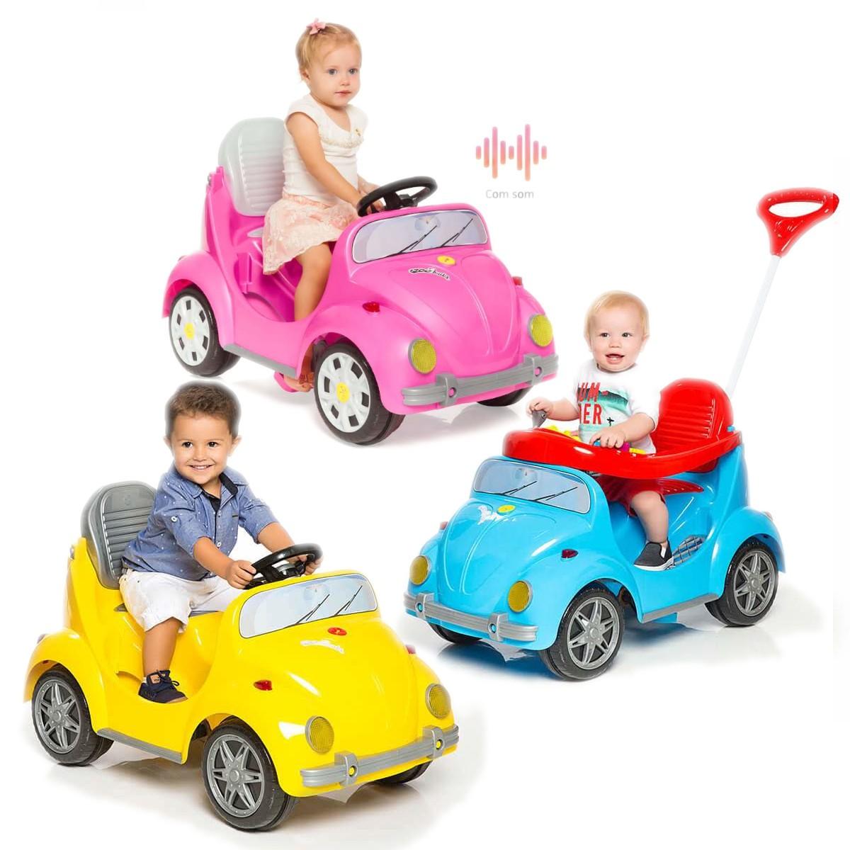Carrinho Passeio Infantil Pedal Empurrador 1300 Fouks