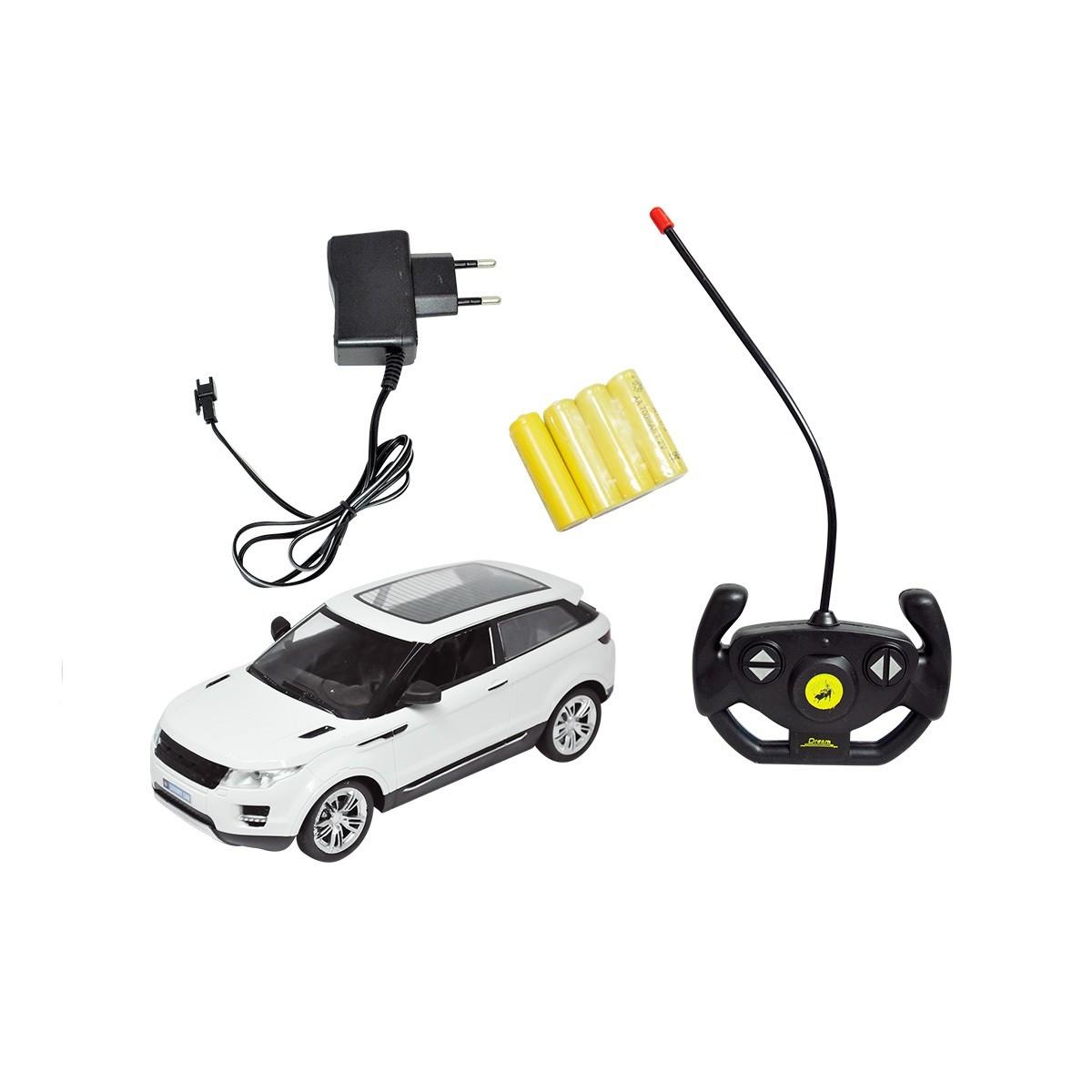 Carro Evoque controle remoto sem fio  Recarregável  DM TOYS