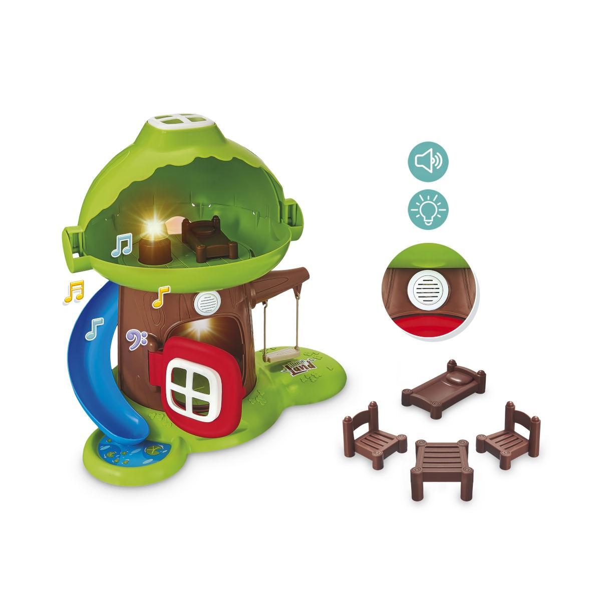 Casinha na Árvore Brinquedo Infantil Luz e Som Little Land