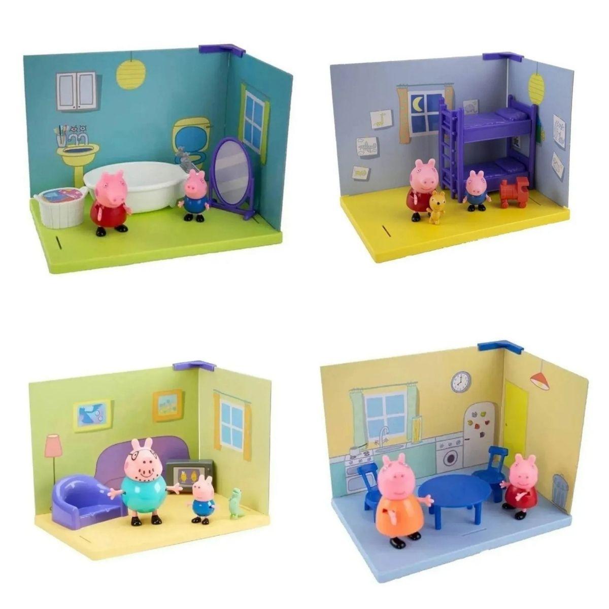 Cenários Casinha da Peppa Pig Sunny 2303