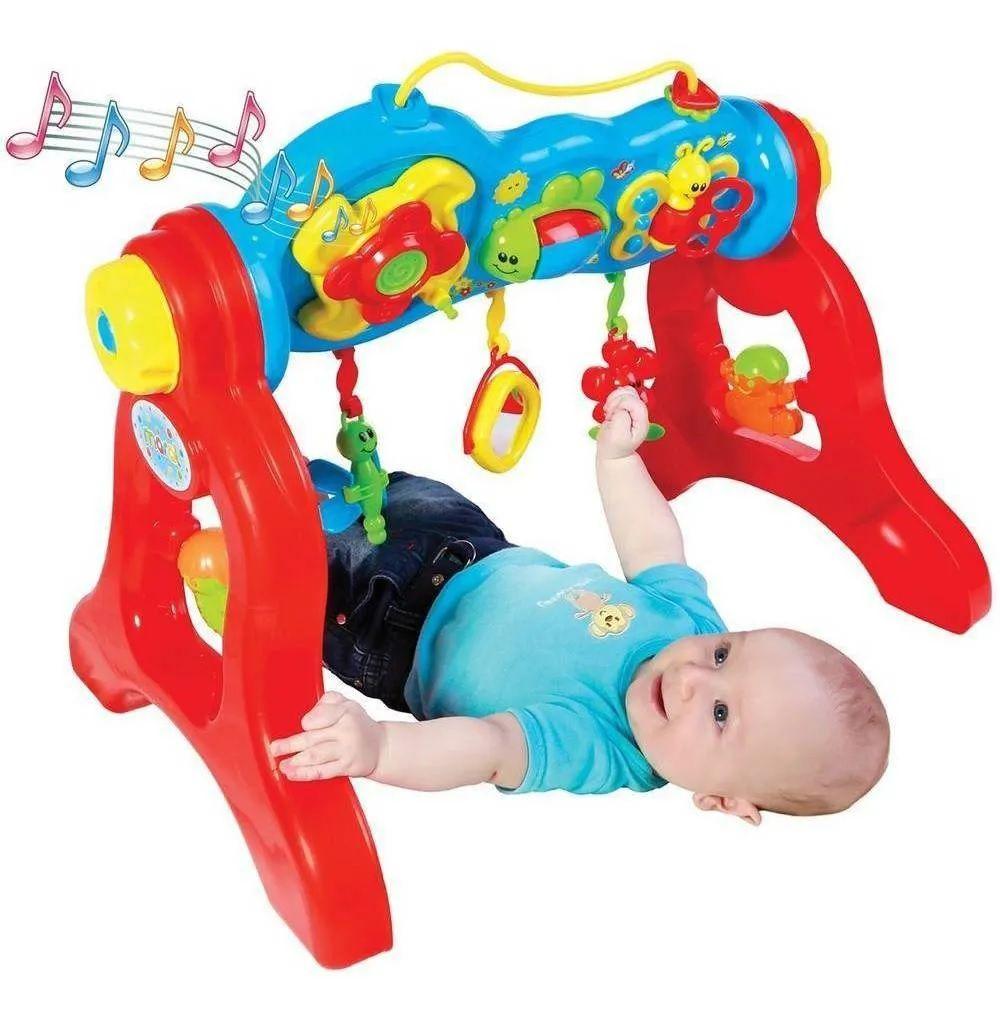 Brinquedo Play Gym Com Som Centro De Atividades Maral