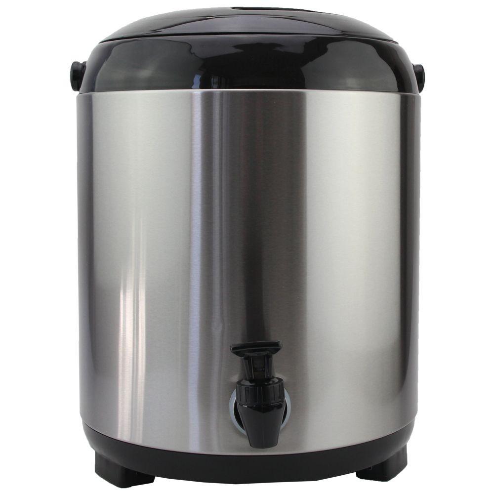Cooler Térmico Galão De Alumínio 7,7L Com Torneira Clink