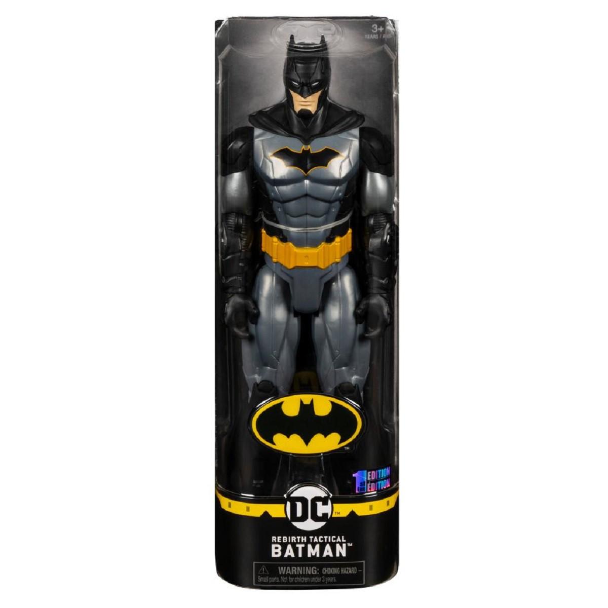 DC Comics BATMAN Boneco De Ação BATMAN TÁTICO Articulado