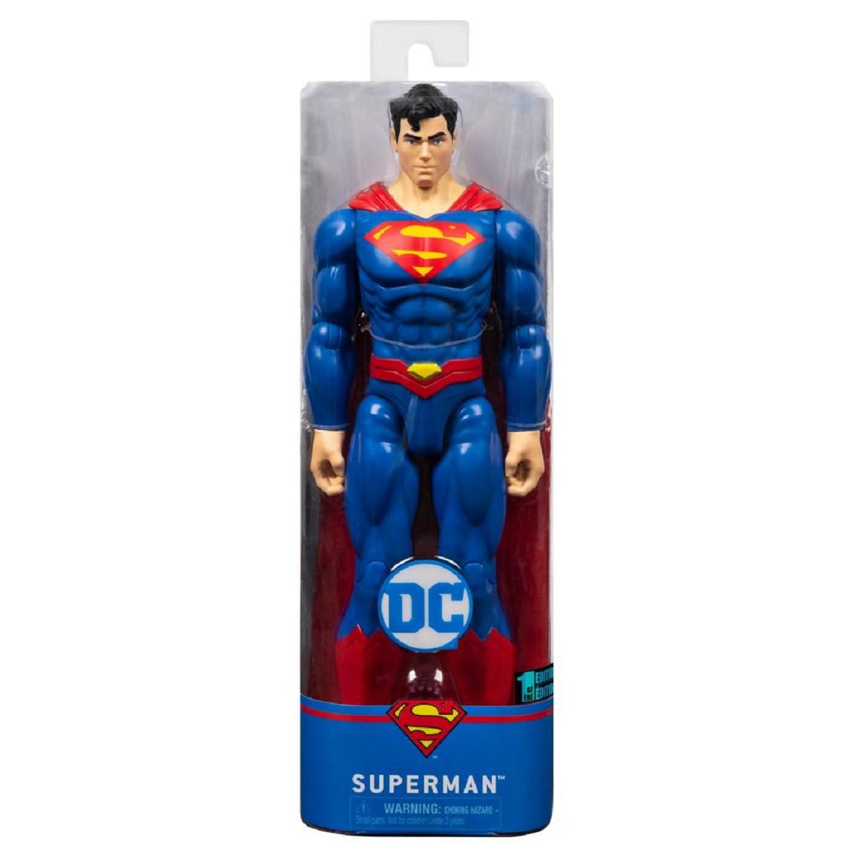 DC Comics LIGA DA JUSTIÇA Boneco De Ação SUPERMAN Articulado