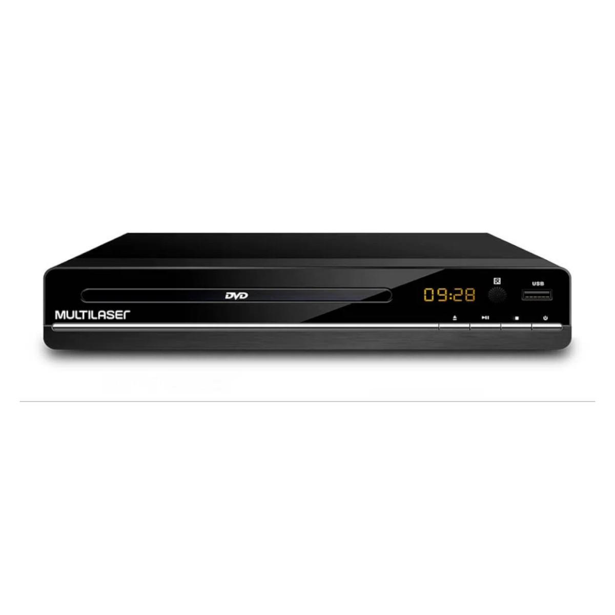 Dvd player 3 em 1 multimídia