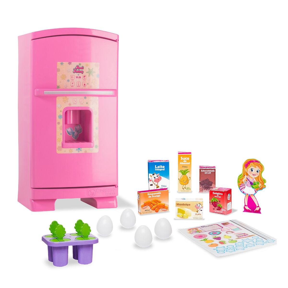 Geladeira Sweet Fantasy Cozinha Sonho de Menina Infantil 2012