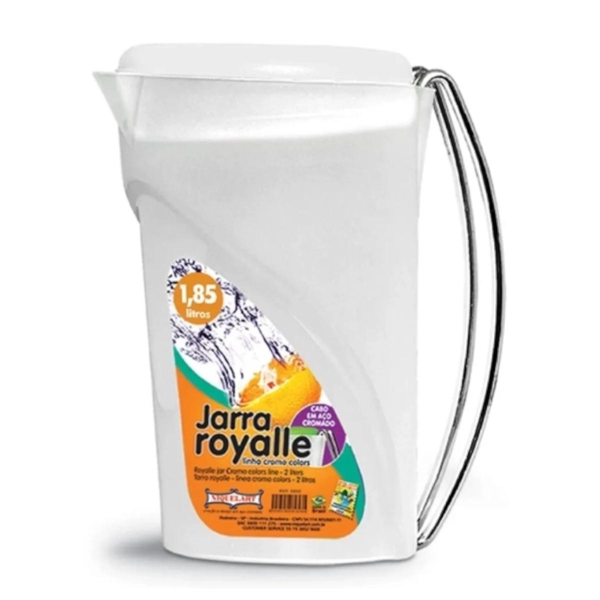 Jarra de Plástico Para Suco Royalle 1,85 Litros