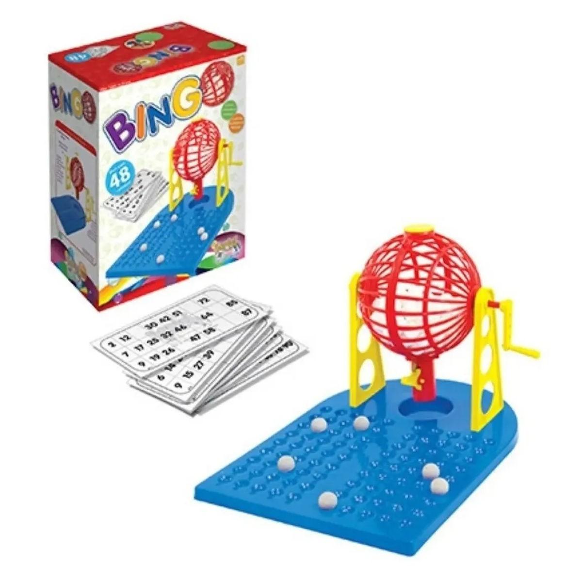 Jogo Bingo Kepler p/ Adultos e Crianças c/ 48 Cartelas