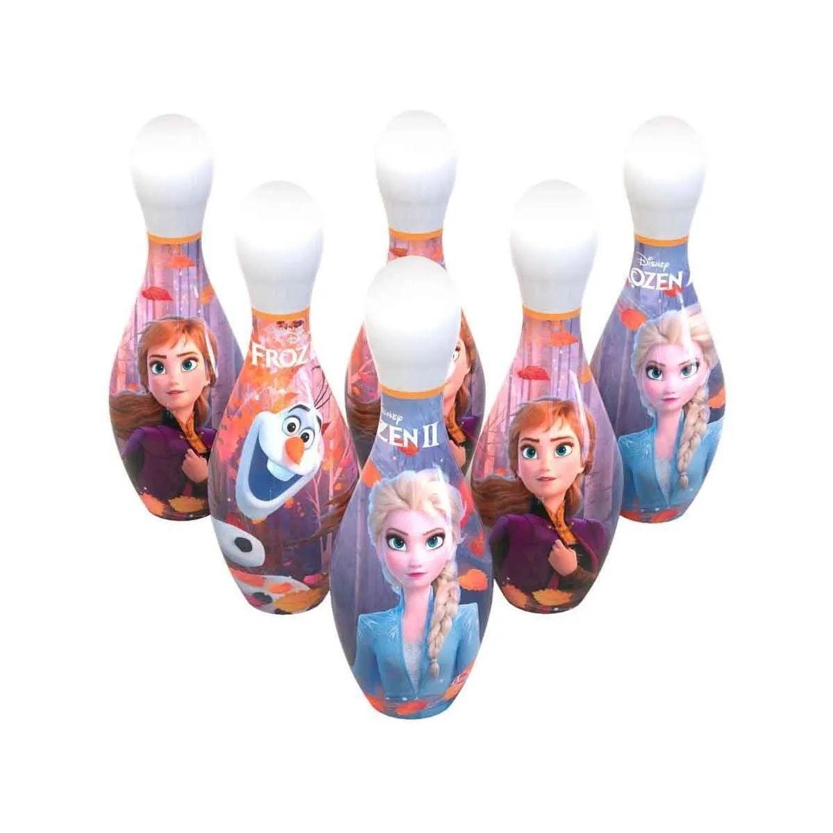 Jogo de Boliche Frozen 2 Infantil Disney 8 Peças 695