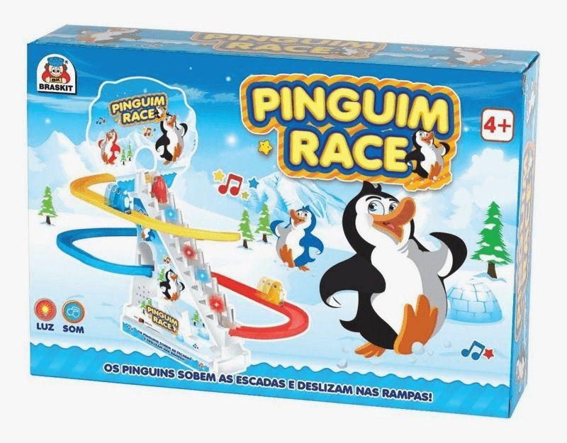 Jogo Diverso Pinguim Race Braskit