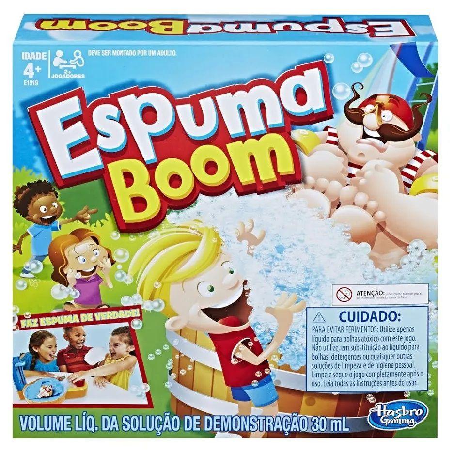Jogo Espuma Boom Original Hasbro