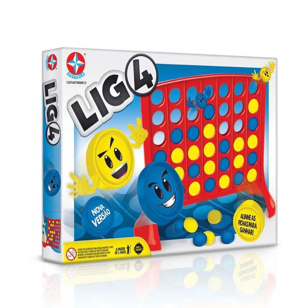 Jogo Lig 4 Nova Versão Estrela