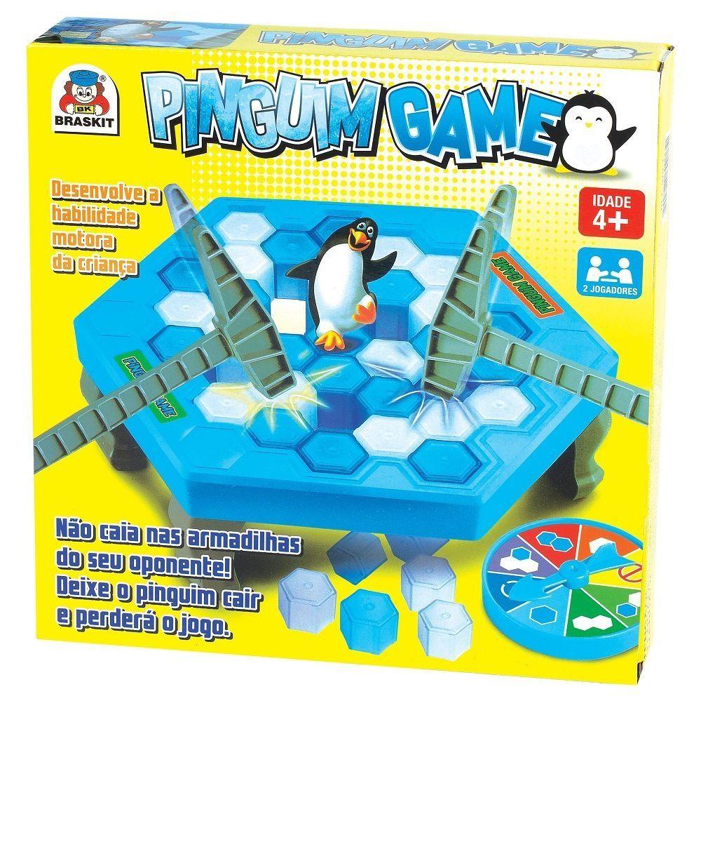 Jogo Pinguim Game Infantil - Braskit 070-3