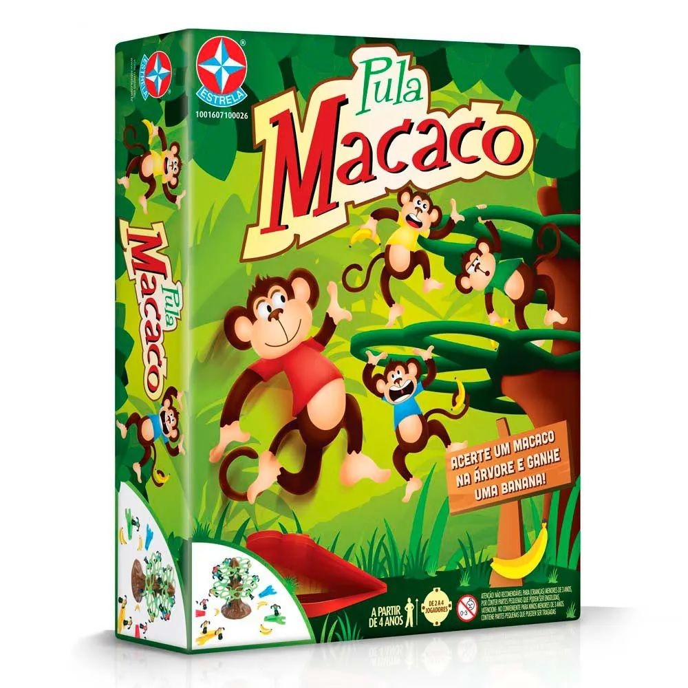 Jogo Pula Macaco Estrela