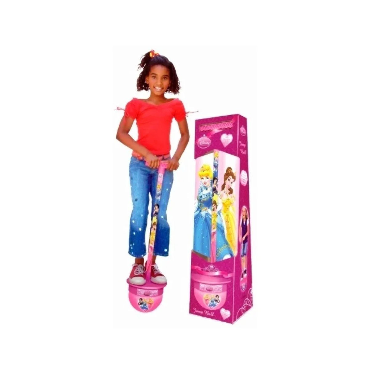 Jump Ball Princesas Disney Pula Pula Líder
