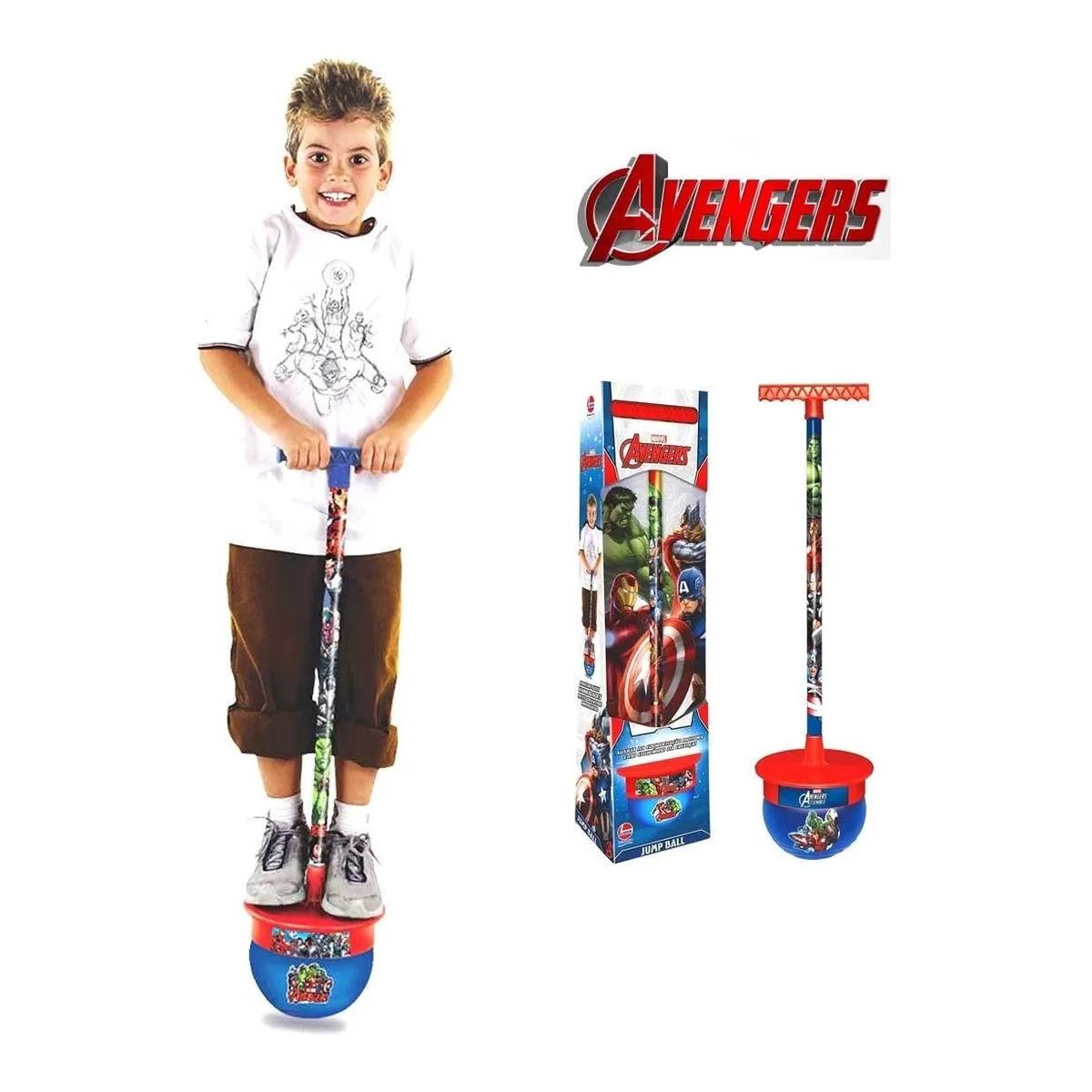 Jump Ball Vingadores Líder Pula Pula Avengers Marvel