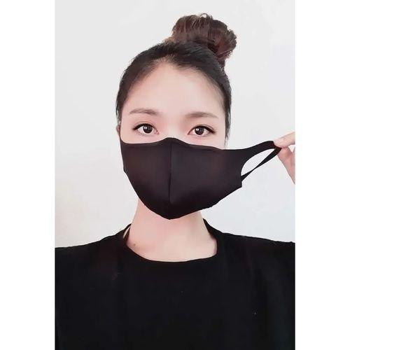 Kit 03 Máscara Proteção Tecido Lavável Neoprene