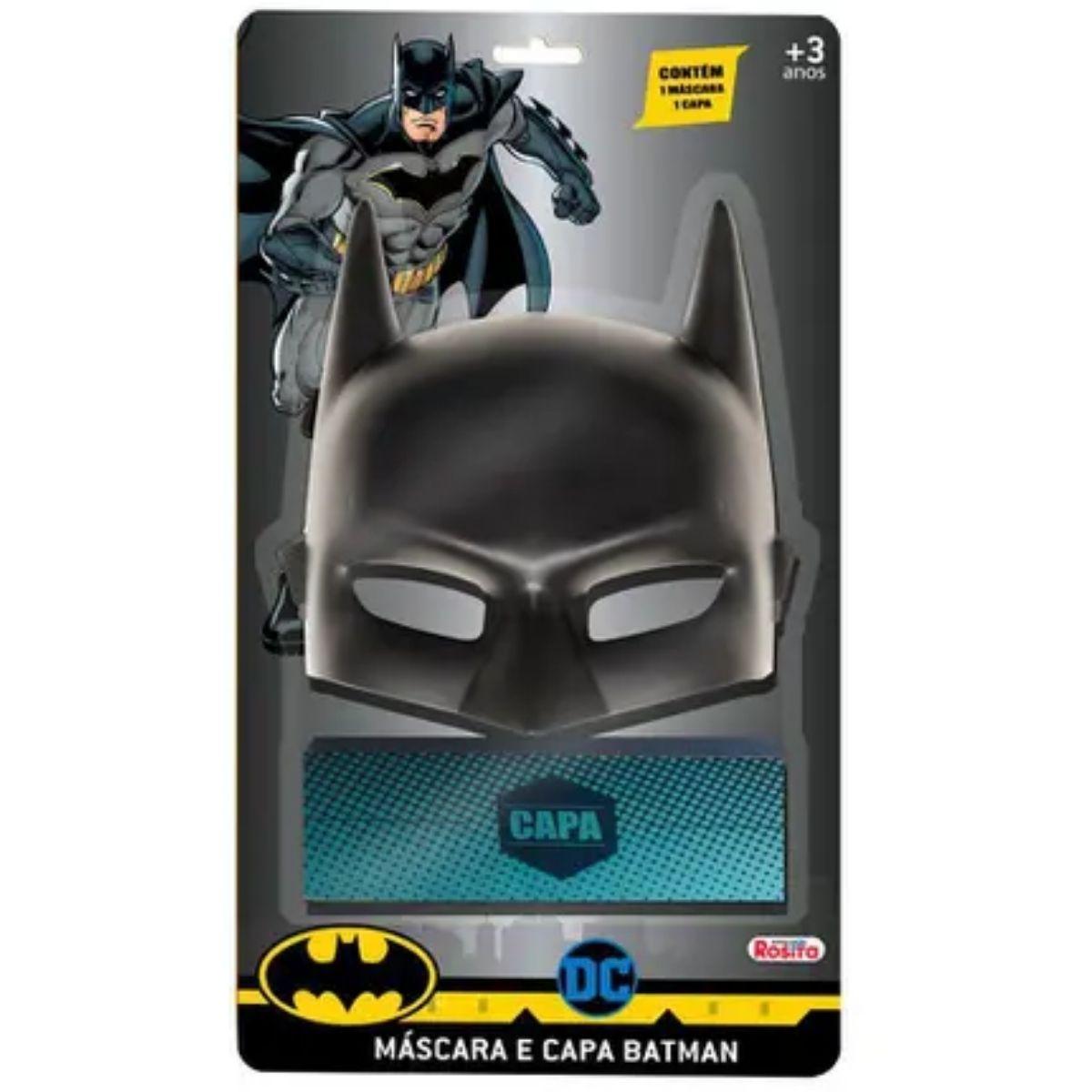 Kit Máscara e Capa do Batman