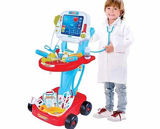 Kit Médico Mini Doutor 17 Peças Fênix Brinquedo