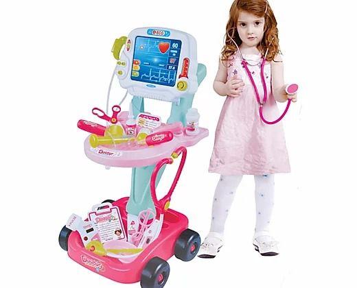 Kit Médico Mini Doutora 17 Peças Fênix Brinquedo