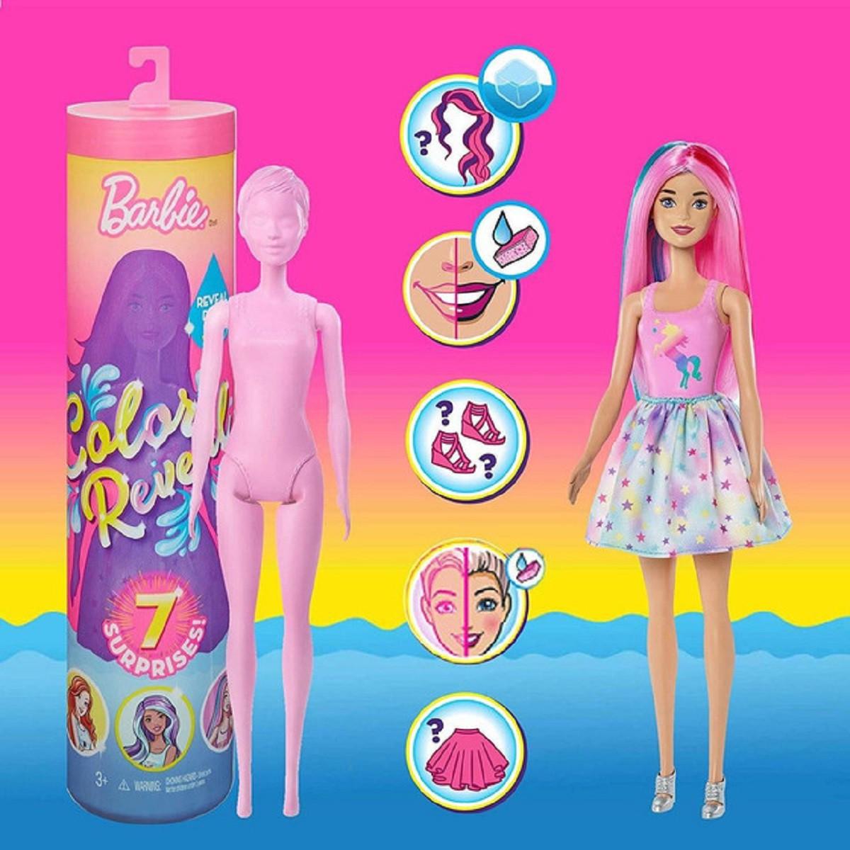 Lançamento Boneca Barbie Color Reveal - Original Mattel