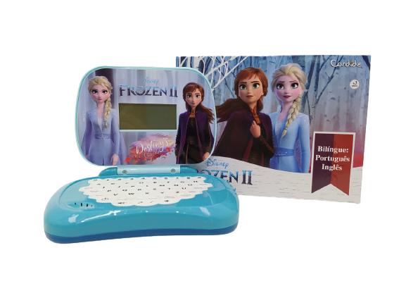 Laptop Infantil Frozen 2 Bilíngue Candide 8303