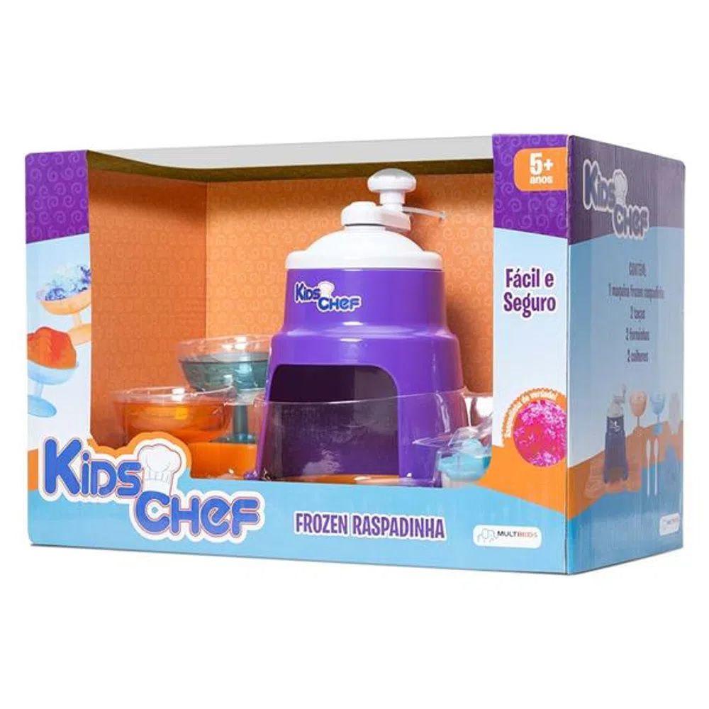 Máquina De Raspadinha Kids Chef Multikids