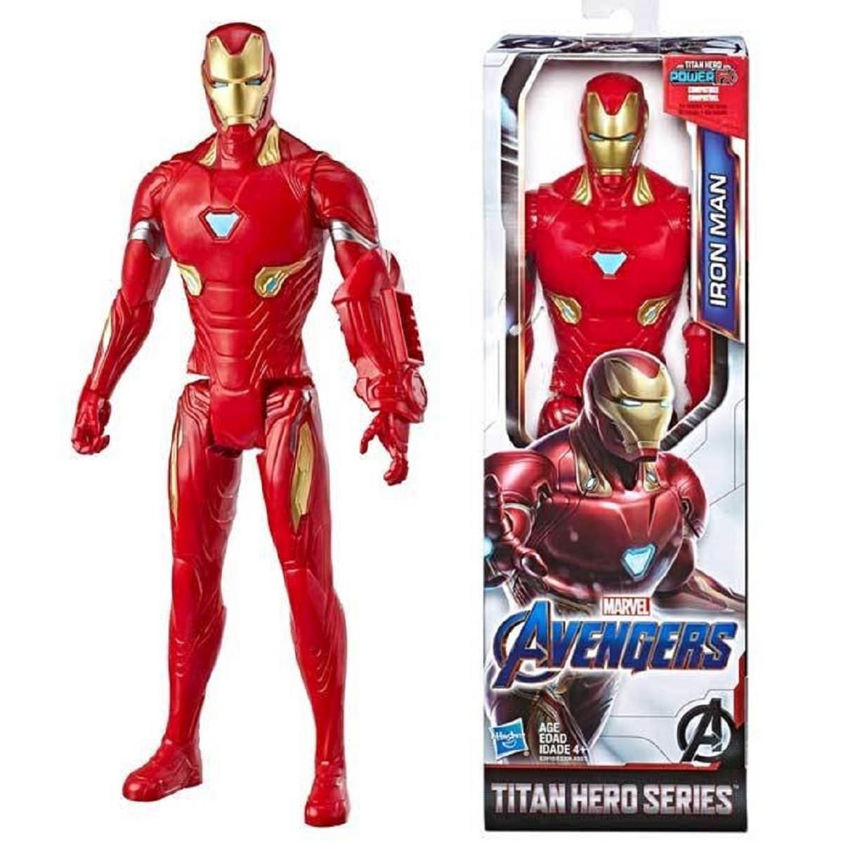 MARVEL Boneco HOMEM DE FERRO Titan Hero Series Vingadores