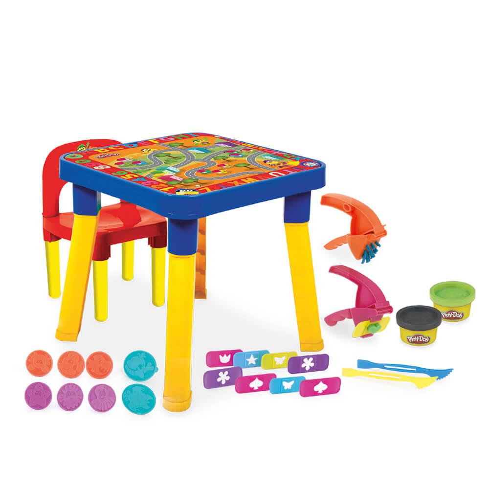 Mesinha Infantil Com Cadeira e Acessórios PLAY-DOH HA9800