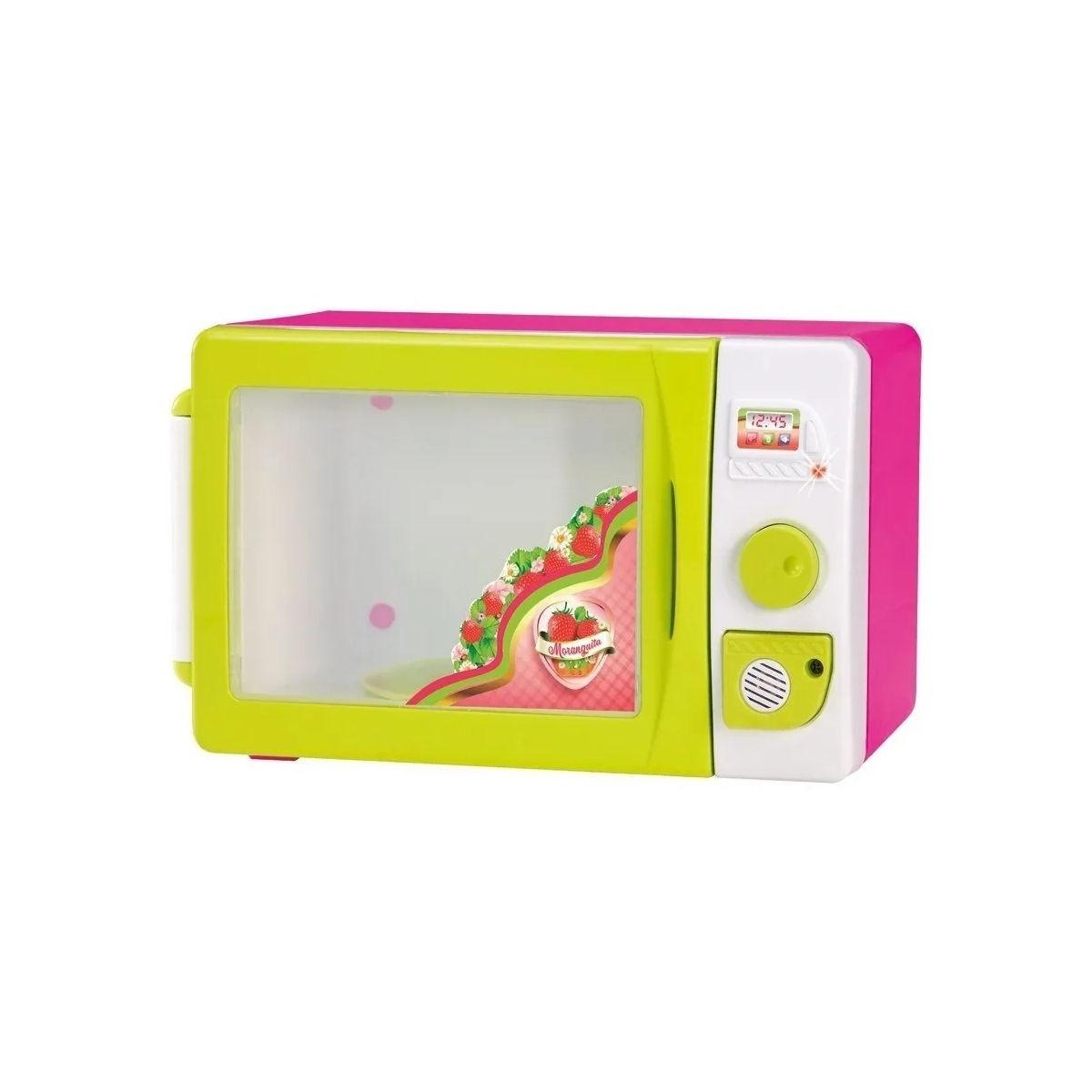 Microondas Infantil Moranguita Magic Toys Com Sons e Luzes 714