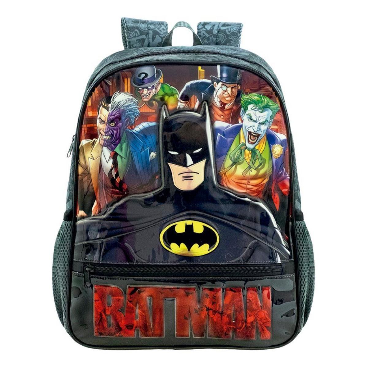 Mochila 16 Infantil Costas Batman Danger