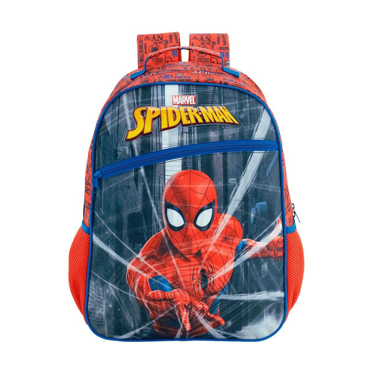 Mochila Infantil Homem Aranha Costas Spider Man Xeryus 8662
