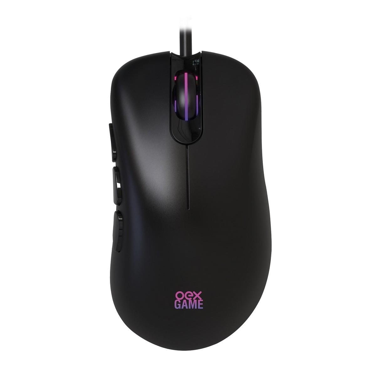 Mouse Gamer Com 6 Botões Macro MOUSE ADRIK OEX